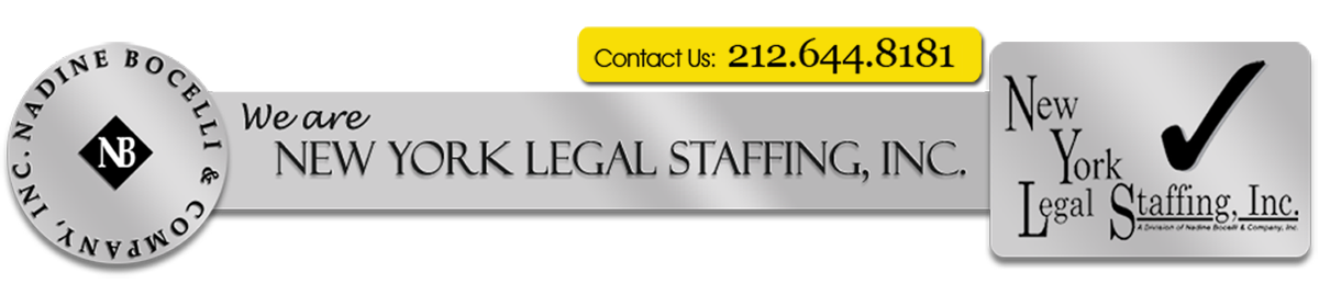 Nadine Bocelli & Company, Inc. - New York Legal Staffing, Inc.